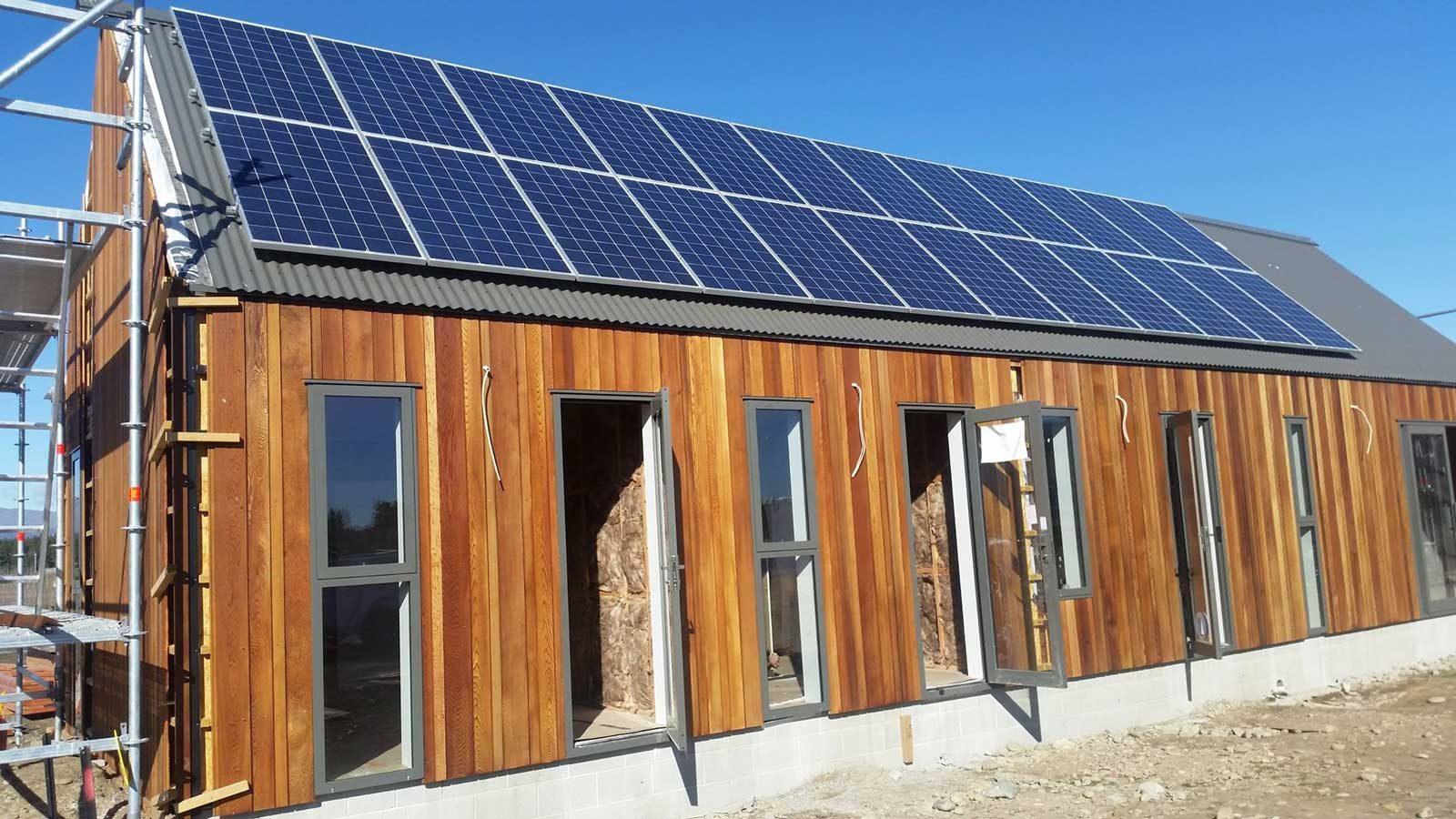 Off Grid Solar Panel Install 1 Sunergy Wiring