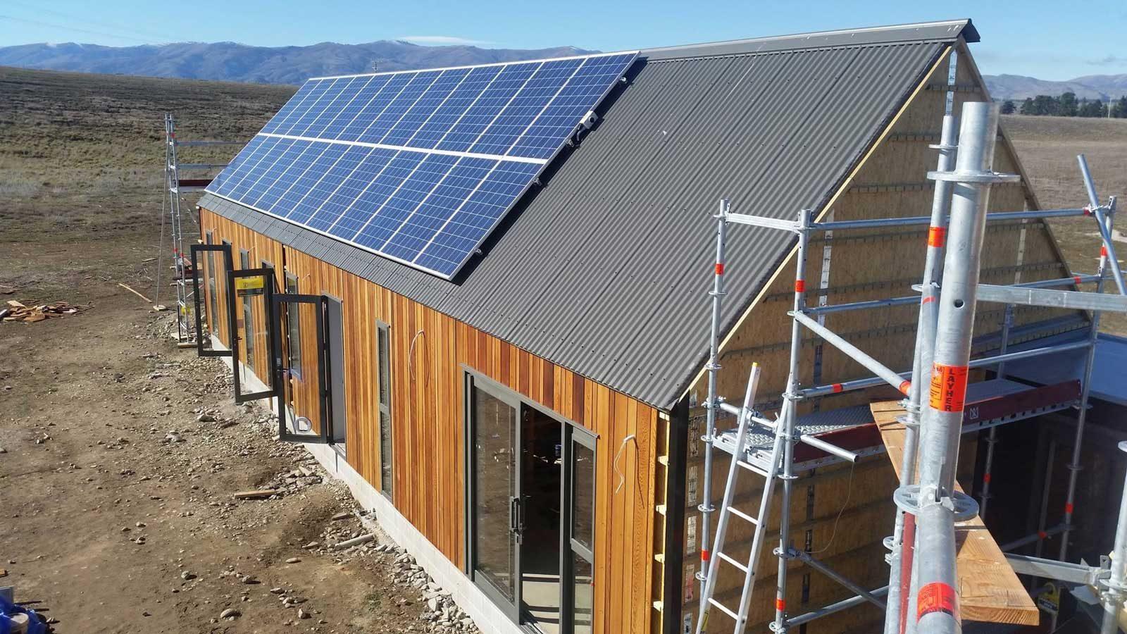 Off Grid Solar Panel Install 1b Sunergy Wiring