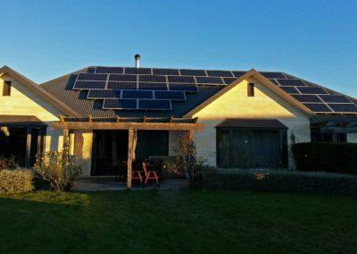 residential solar installation 1