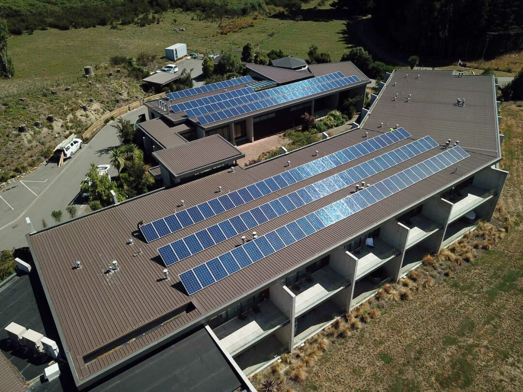 commercial solar power system installation Bremnar Lodge 2