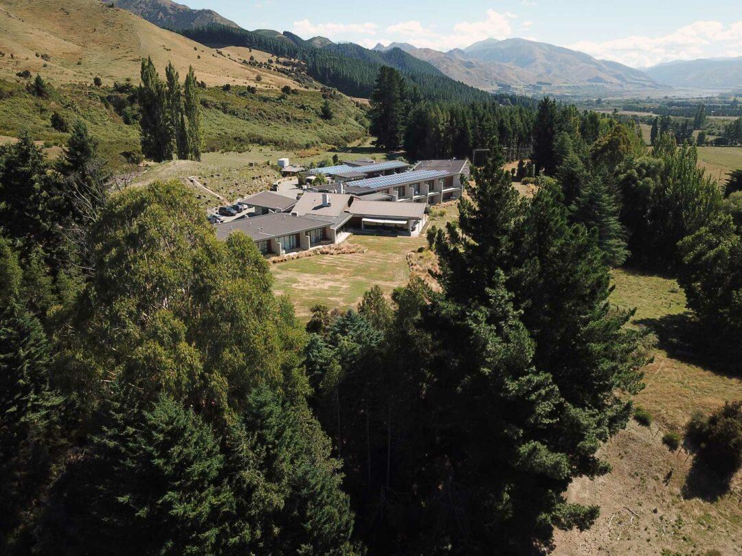 Commercial solar panel installation at Bremnar Lodge