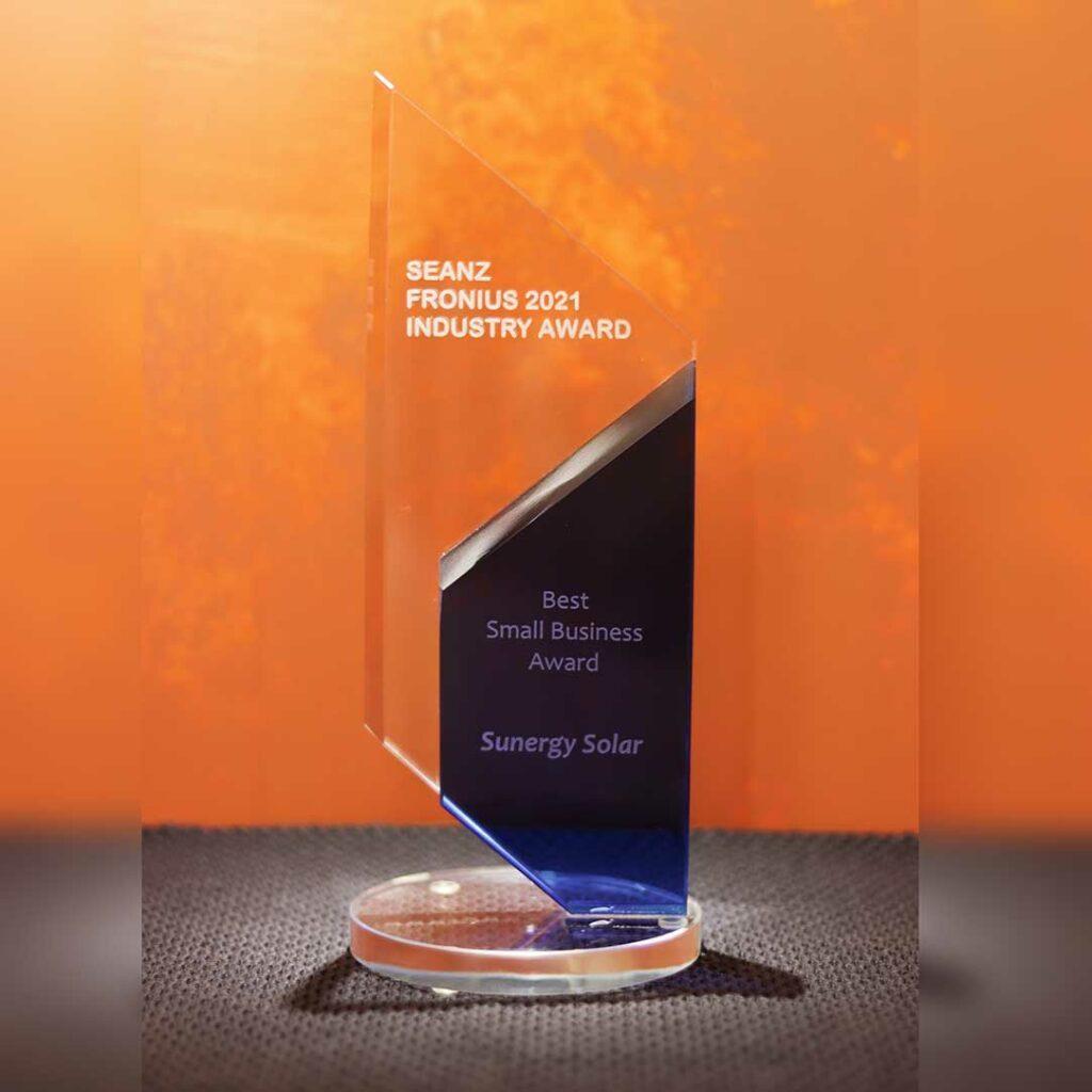 SEANZ Best Small Business Award