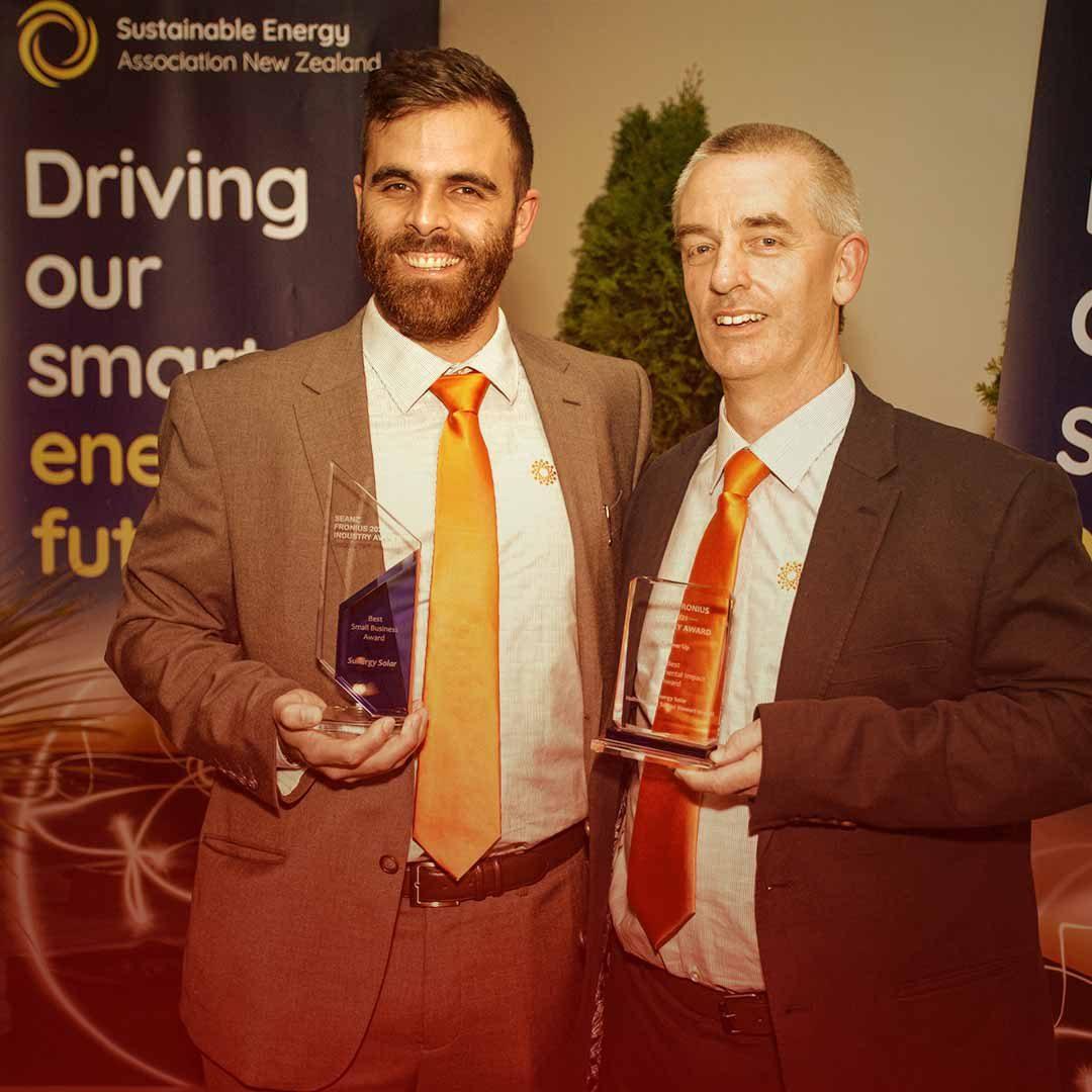 Winner Best SEANZ Small Business Awards Sunergy Solar 1080p